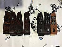 Накладка дерево кнопок склопідйомників mercedes s-class w220