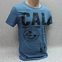 Футболка мужская/ молодежная, Турция. Модная молодежная футболка из коттона.