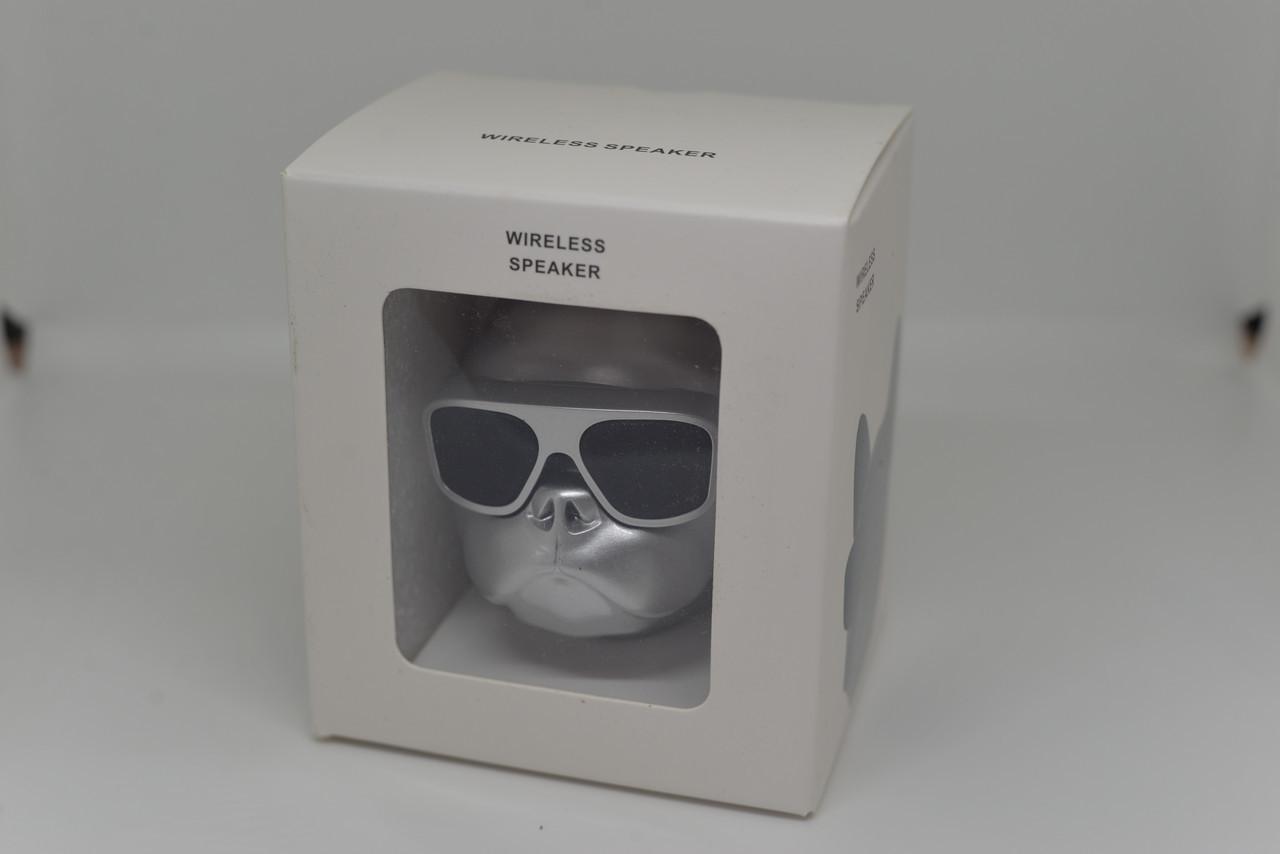 Колонка Bluetooth S3 СОБАКА (голова)