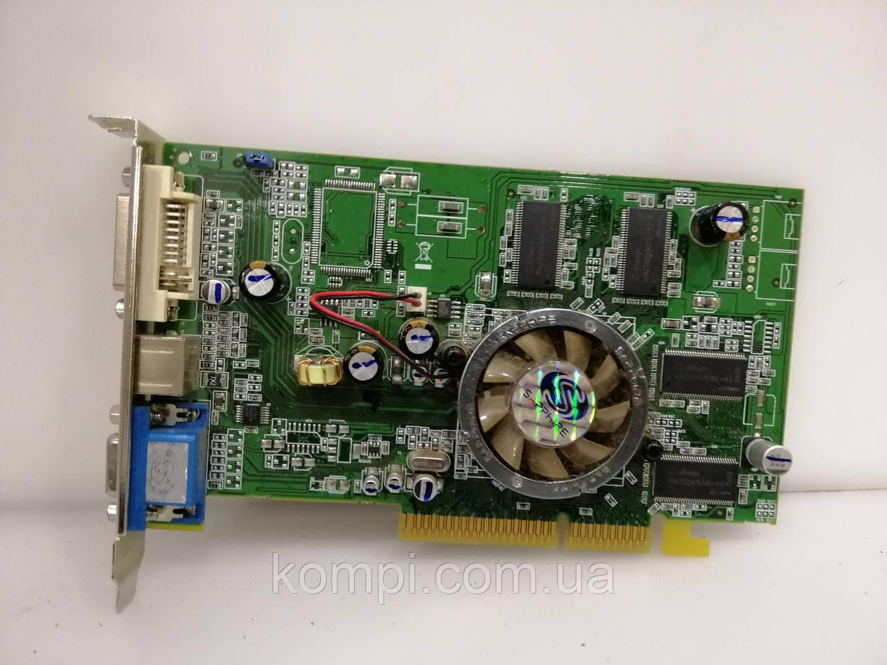 Видеокарта ATI 9550 256mb  AGP