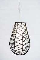 """Светильник """"Капля"""" плетеный, высота 40 см"""