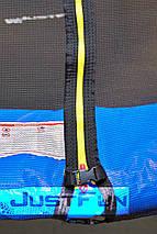 Батут Just Fun 305 см с внутренней сеткой и лестницей (B-JF305K) Мультиколор, фото 3