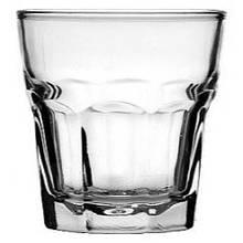 Стакан низкий 230 мл стеклянный для коньяка, виски Marocco UniGlass
