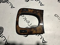 Накладка дерево на кулісу рестайлінг mercedes s-class w220, фото 1