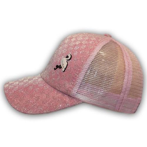 Кепка с сеткой Фламинго
