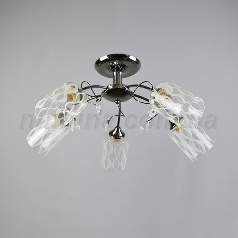 Люстра потолочная на три лампочки QH-1697/5