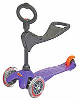 Детский трехколесный самокат беговел детский Micro Mini 3в1.Оригинал с Европы