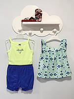 Комплект летний 3в1 для девочки от Carter's