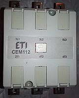 ETI Электромагнитный контактор CEM 112.22 112А