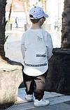 Детский спортивный модный костюм для мальчика и девочки, фото 3