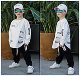 Детский спортивный модный костюм для мальчика и девочки, фото 8