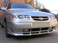 Накладка на передний бампер ВАЗ 2110 2111 2112 Акс