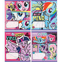 Тетрадь школьная Kite My Little Pony LP19-232, 12 листов, клетка