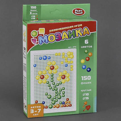 Мозаика 2711 (48) 150 фишек, в коробке