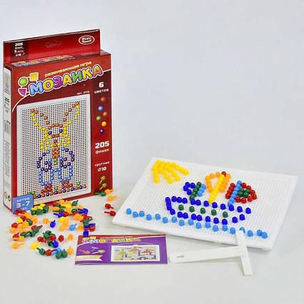 Мозаика 2713 Play Smart (32) 205 фишек, 6 цветов,