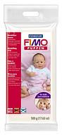 038029 Полимерная глина FIMO Puppen ,1 блок500гр,белый фарфор,для кукол