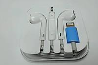 Наушники для входа Iphone Lightning с микрофоном и регулятором громкости (наушники для айфона)