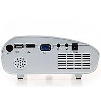 Проектор портативный мультимедийный UKC RD802 White, фото 3