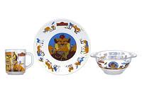 Disney Лев хранитель Набор для детей - 3 пр ОСЗ Н.1914;1335;9944ДЗ ЛевХр.