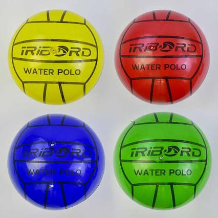 Мяч детский резиновый С 34559 (500) 4 цвета, 60 грамм, диаметр 20 см