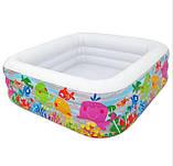 """Детский надувной бассейн Intex 57471 """"Квадрат"""", бассейны Интекс, фото 2"""