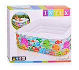 """Детский надувной бассейн Intex 57471 """"Квадрат"""", бассейны Интекс, фото 3"""
