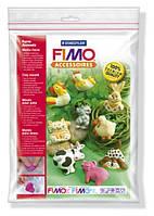 """8742 01 Формочки для литья,FIMO,""""Животные с фермы"""",9 форм,5x4см,STAEDTLER"""