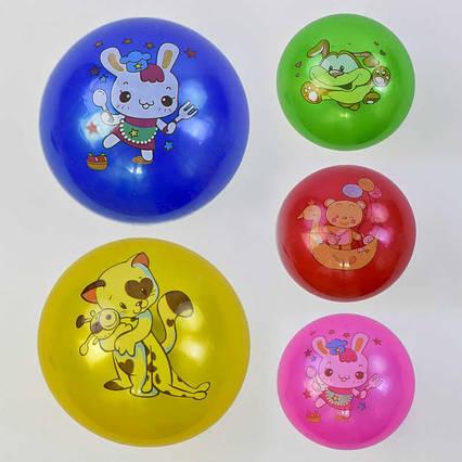 Мяч резиновый С 34211-25 (500) 5 видов