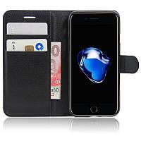 Чехол-книжка Litchie Wallet для Apple iPhone 7 Plus / iPhone 8 Plus Черный