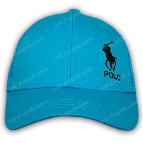 Кепка с сеткой и логотипом Polo