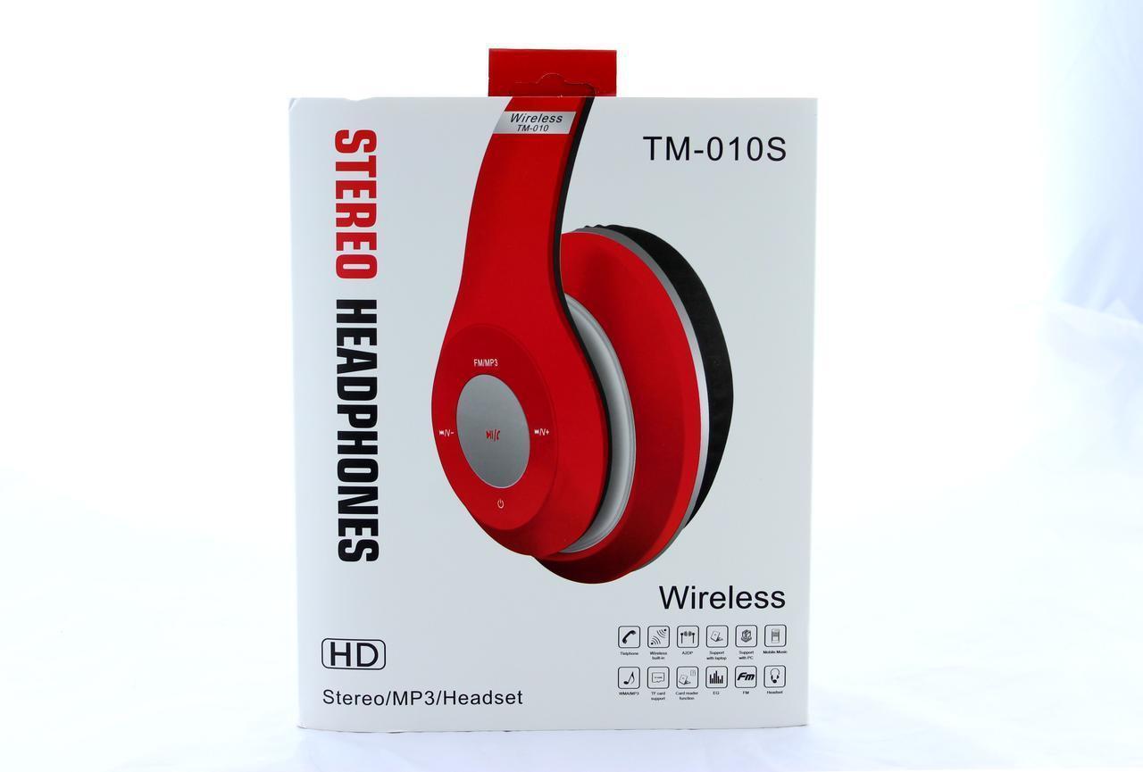 Наушники беспроводные bluetooth / microSD / Mp3 MDR TM 010S BT