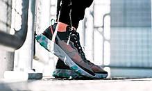 """Кроссовки Nike Undercover React Element 87 Neptune """"Синие/Черные"""", фото 2"""