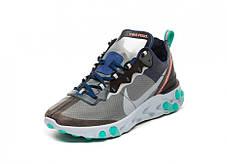 """Кросівки Nike Undercover React Element 87 Neptune """"Сині/Чорні"""", фото 2"""