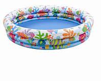 """Бассейн надувной детский Intex 59431 """"Тропические рыбки"""", бассейны для детей, Интекс"""