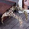 Діадема ХЛОЯ, корона на голову, тіара, прикраси для волосся аксесуари, фото 3