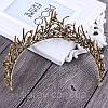 Діадема ХЛОЯ, корона на голову, тіара, прикраси для волосся аксесуари, фото 4