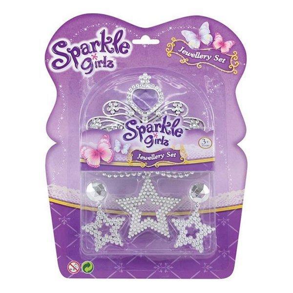 Набор аксессуаров Funville Sparkle Girlz с фиолетовыми стразами FV75055 ТМ: Funville