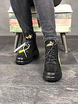 """Ботинки Puma Spring Boots Suede """"Черные"""", фото 2"""