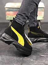 """Ботинки Puma Spring Boots Suede """"Черные"""", фото 3"""