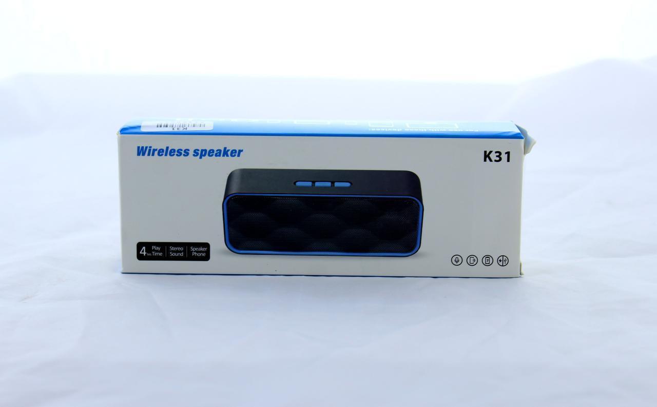 Портативная акустическая система SPS K31+BTс поддержкой Bluetooth