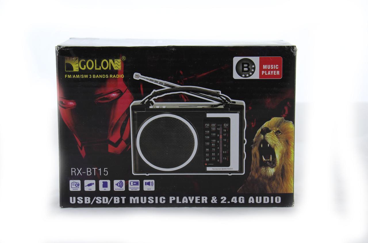 Радиоприемник Golon RX BT16