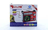 Радиоприёмник GOLON RX-552 USB / SD / аккумулятор / фонарик