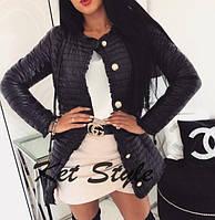 Куртка женская весна 2019 Ткань синтепон 150, размеры S,M,L. Удлиненный вариант хитовой куртки