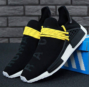 Мужские кроссовки Adidas NMD Human Race x Pharrell Williams Black
