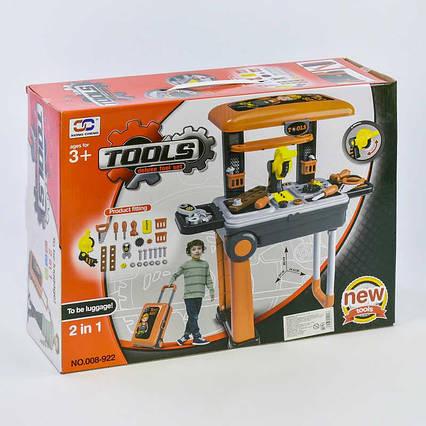 Набор инструментов в чемодане 008-922 (8) в коробке