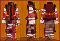"""Український національний костюм """"Мама"""" прокат для дівчинки 8-10 років (128-140)"""