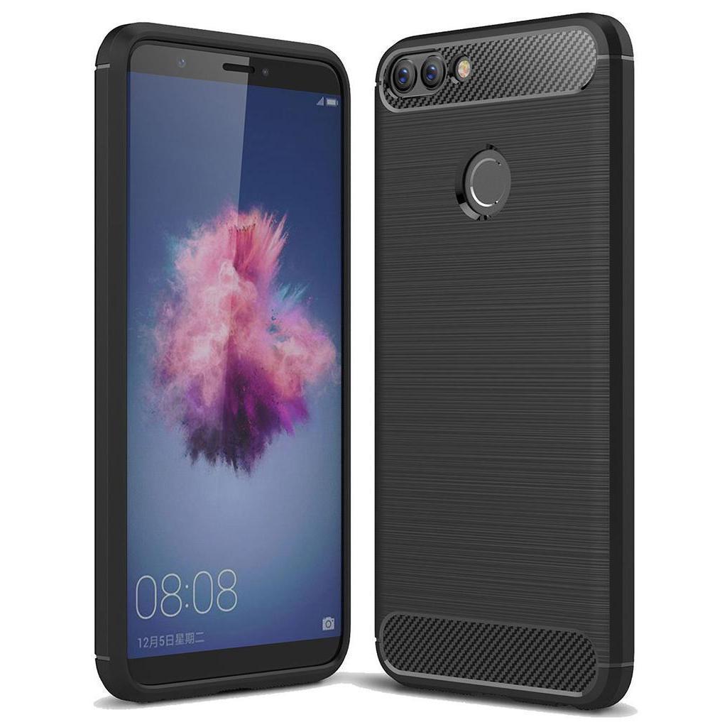 Чехол для моб. телефона Laudtec для Huawei Y7 Prime 2018 Carbon Fiber (Black) (LT-YP2018)