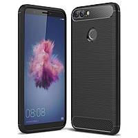 Чехол для моб. телефона Laudtec для Huawei Y7 Prime 2018 Carbon Fiber (Black) (LT-YP2018), фото 1