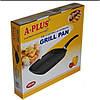 Сковорідка для гриля 28 см A-PLUS GP-1495, фото 2