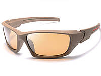 Антибликовые велосипедные очки LongKeeper  Коричневый